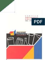 Cartilla de Empaque y Embalaje para la Exportación.