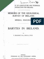 Barytes in Ireland