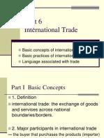 Unit 6 Trade