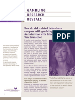 Gambling Research Reveals - Issue 6, Volume 8 - August / September 2009