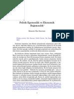 Politik Egemenlik ve Ekonomik Bağımsızlık - Che Guevara