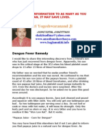 Dengue Fever Remedy