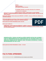 TABELA DE PREÇOS DOS SERVIÇOS DE INFORMÁTICA - ANA ELISA - PARA AVALIAÇÃO EM 2012