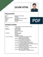 Curriculum Vitae Braydi Vera 2012