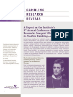 Gambling Research Reveals - Issue 4, Volume 9 - April / May 2010