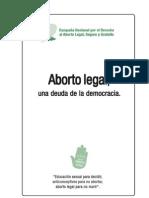 Proyecto Ley Aborto