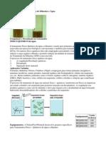 Tratamento Físico - Químico de Efluentes e Água