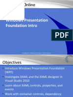 Intro to Windows Presentation Foundation (WPF)