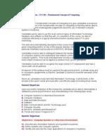 ICCS - Fundamental Concepts of Computing