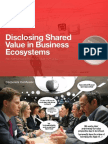 Disclosing Shared Value in Business Ecosystems