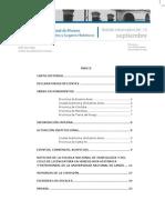 Boletín Informativo 08/12 de la Comisión Nacional de Museos , Monumentos y Lugares Históricos