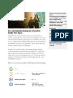 Cisco's Extended Enterprise Innovation Center