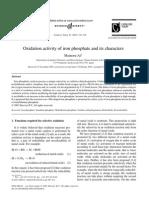 Iron Phosphate Activity