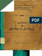 geometría analítica NL