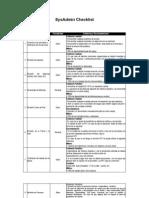 Checklist Admin Server