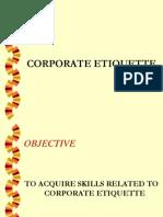 Corporate Etiquette Mms