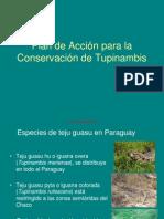 PLAN DE ACCIÓN PARA LA CONSERVACIÓN DE TUPINAMBIS - PARAGUAY - PORTALGUARANI