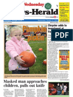 News-Herald Front Page 10-31