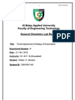 General Chemistry Lab Report9