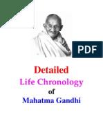 Gandhi Life_Chronology_Detailed