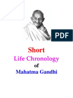 Gandhi Life_Chronology_ Short