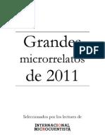 Grandes Microrrelato de 2011