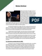 Trabajo Practico Nestor Kirchner