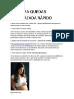 TIPS PARA QUEDAR EMBARAZADA RÁPIDO