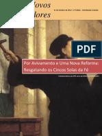 Revista Novos Reformadores - 1ª Edição - 31.10.2012
