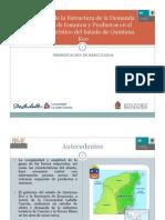 Análisis de la Estructura de la Demanda y Oferta de Insumos en el Sector Turistico de Q