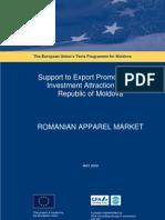 Romanian Apparel Market 1
