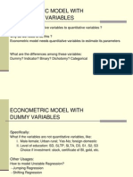 Econometric Model With Qualitative Variables_2