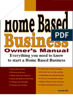 Home Based Business Owner's Manual - Preview Edition
