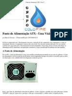 Eletrônica - Fonte de Alimentação ATX - Uma visão Geral