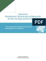 1.1.- Manual Orientaciones PME 2012