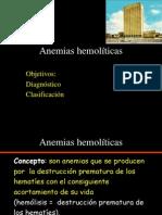 Anemias hemolisis