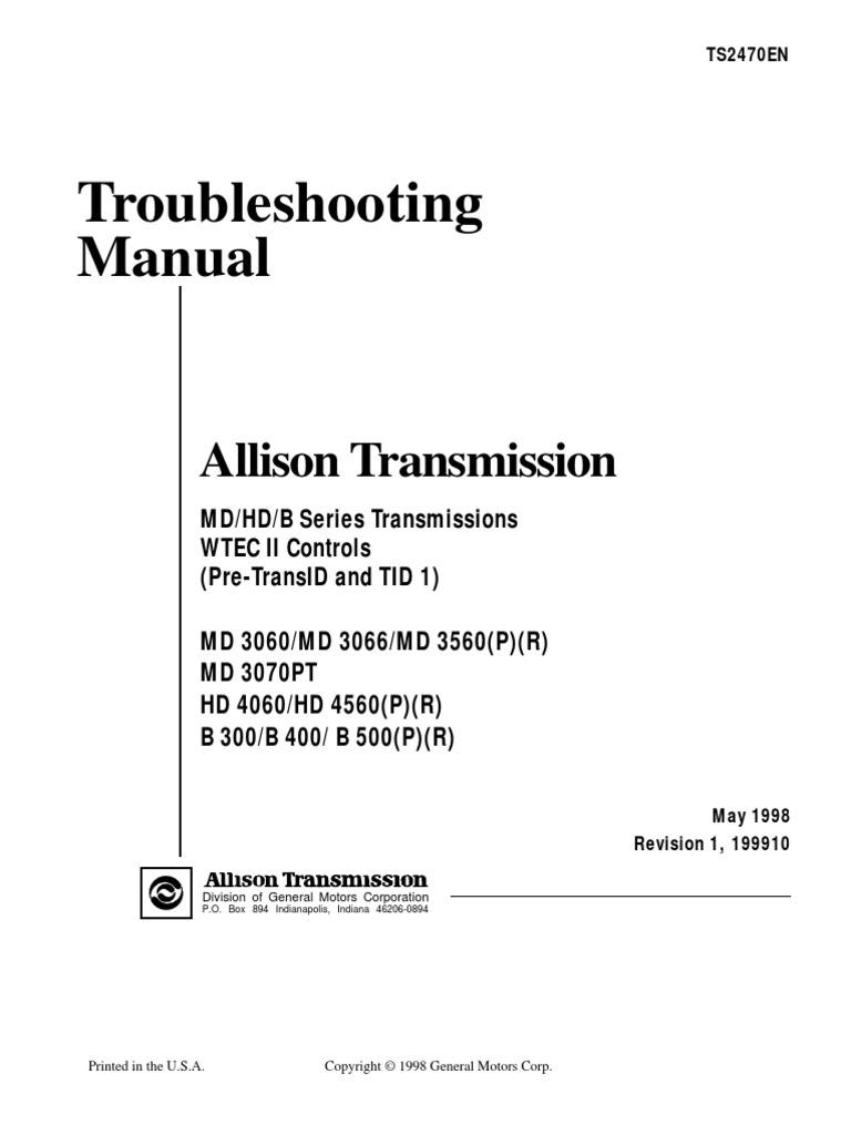 md3060 trouble shooting throttle transmission (mechanics)Allison 3000 Transmission Wiring Diagram Share The Knownledge #4