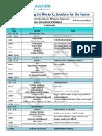 Obesity Australia Summit Program 31-10-12