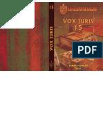 Revista Vox Juris