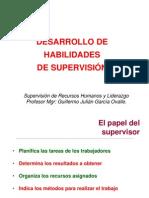 Habilidades de Supervision 2012. Supervision de RRHH y Liderazgo.