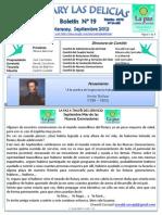 Boletin Rotary N°19 Septiembre 2012