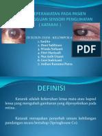 Asuhan Keperawatan Pada Pasien Dengan Gangguan Sensori Penglihatan