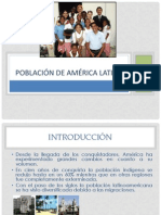Población de América Latina 2012