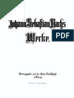 BGA Band 43 Kammermusik - Notenbücher der Anna Magdalena Bach