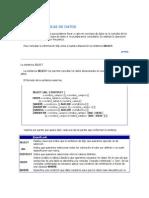 Consultas Basicas de Datos