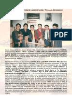 La Verdadera Historia de Alborada de Huanuco[1]