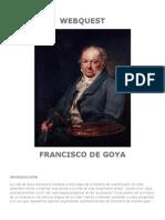 Webquest Goya