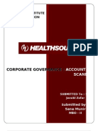 unhealthy accounting at healthsouth Find the latest business news on wall street, jobs and the economy, the housing market, personal finance and money investments and much more on abc news.