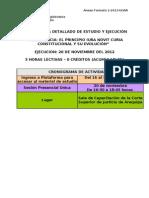 Cronograma Conf 20 NOV Arequipa