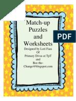 Match-up Cover Sheet2